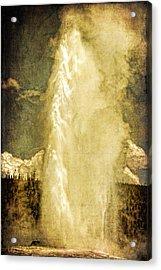 Old Faithful Memories Acrylic Print