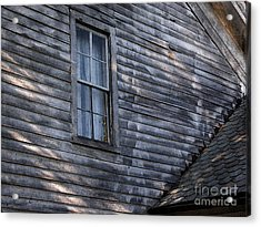 Old Farm House Detail Acrylic Print by Tom Brickhouse