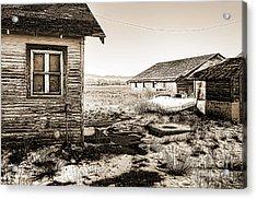 Old Farm Acrylic Print by Baywest Imaging
