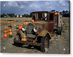 Acrylic Print featuring the photograph Old Farm Truck by Michael Gordon