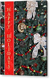 Old Fashioned Christmas Acrylic Print by Carolyn Marshall