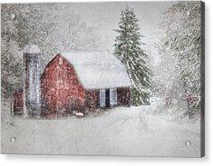 Old Fashioned Christmas Acrylic Print by Lori Deiter