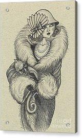 Old-fashioned Acrylic Print by Snezana Kragulj