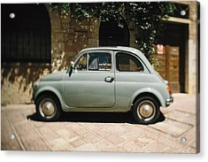 Old Fiat Acrylic Print by Clint Brewer