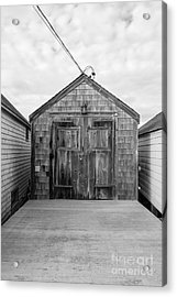 Old Fishing Shack Little Boars Head Rye Nh Acrylic Print