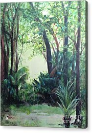 Old Florida 5 Acrylic Print