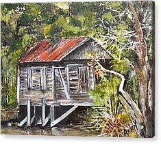 Old Florida Acrylic Print