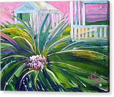 Old Florida Acrylic Print by Patricia Taylor