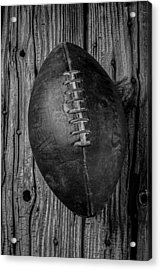 Old Football Acrylic Print by Garry Gay