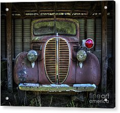 Old Ford Firetruck 2 Acrylic Print