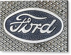 Old Ford Symbol Acrylic Print