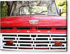 Old Ford Truck 5d22422 Acrylic Print by Wingsdomain Art and Photography