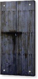 Old Fort Door Acrylic Print