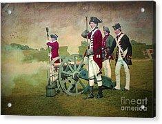 Acrylic Print featuring the digital art Old Fort Niagara by Lianne Schneider