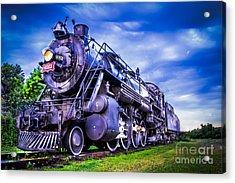 Old Fort Train Acrylic Print