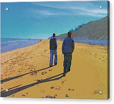 Old Friends Long Shadows Acrylic Print
