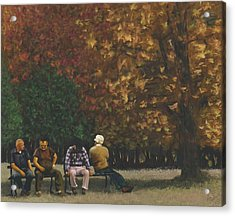 Old Friends Acrylic Print