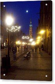 Old Gdansk Shops Acrylic Print