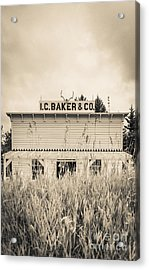 Old General Store Acrylic Print by Edward Fielding