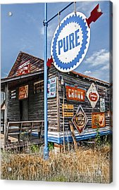Old General Store Acrylic Print by Marion Johnson