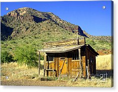 Old General Store - Salt River Canyon Acrylic Print by Douglas Taylor