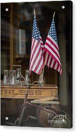 Old General Store Window Acrylic Print