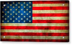 Old Glory Acrylic Print by Dan Sproul