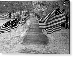Old Glory Ir Acrylic Print by Andy Lawless
