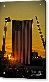Acrylic Print featuring the photograph Old Glory by Jim Lepard