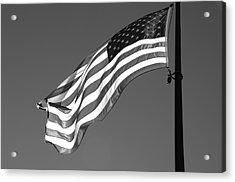 Acrylic Print featuring the photograph Old Glory by Ron White
