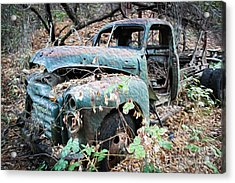 Old Gmc Acrylic Print by Dan Julien