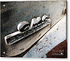 Old Gmc Acrylic Print by Kimberly Maiden
