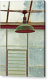 Old Green Lamp Acrylic Print
