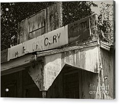 Old Grocery Store Acrylic Print