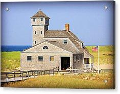 Old Harbor Lifesaving Station--cape Cod Acrylic Print