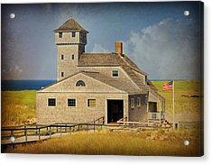 Old Harbor Lifesaving Station On Cape Cod Acrylic Print