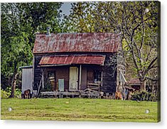 Old Haus Acrylic Print by Kelly Kitchens