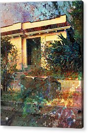 Acrylic Print featuring the photograph Old Home Art  by John Fish