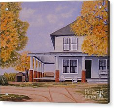 Old Home Place Acrylic Print by Susan Williams
