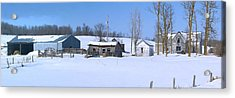 Old Homestead 33 Acrylic Print by Susan Crossman Buscho