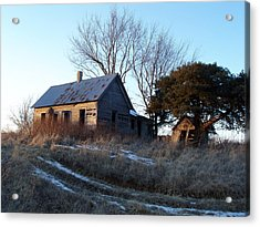 Old Homestead Acrylic Print