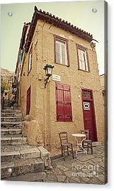 Acrylic Print featuring the photograph Old House  by Aiolos Greek Collections