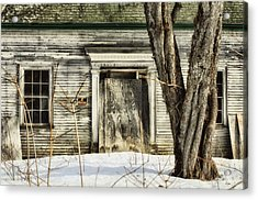 Old House By The Road Acrylic Print by Susan Capuano