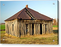 Old House Place Arkansas 2 Acrylic Print by Douglas Barnett