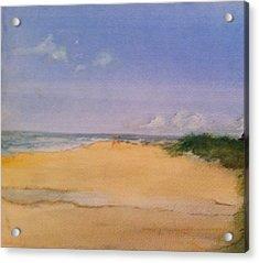 Old Hunstanton Beach Acrylic Print