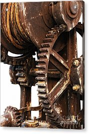 Old Industry Acrylic Print by Sinisa Botas