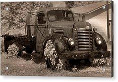 Old International Truck Acrylic Print