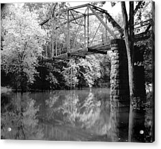 Old Iron Bridge Acrylic Print