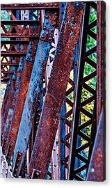 Old Iron Acrylic Print