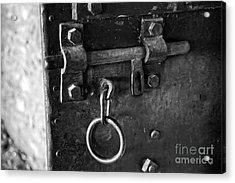 Old Jail Door Acrylic Print